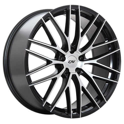 "18"" DAI Rennsport Machined Face"
