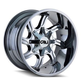20x9 CALI Twisted Chrome
