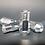 Thumbnail: 12x1.25 Extended Aluminum Wheel Nut Set Silver