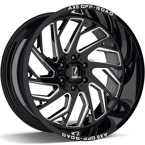 20x10 Axe Zeus Black