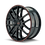 "Thumbnail: 20"" Touren TR60 Black/Red Ring"