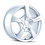 "Thumbnail: 19"" Touren TR9 Hyper Silver"