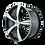 "Thumbnail: 17"" Touren TR9 Machined Face"
