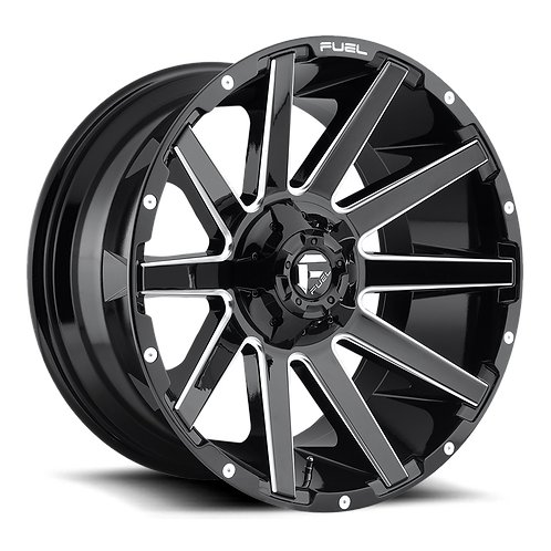 20x10 Fuel Contra Gloss Black