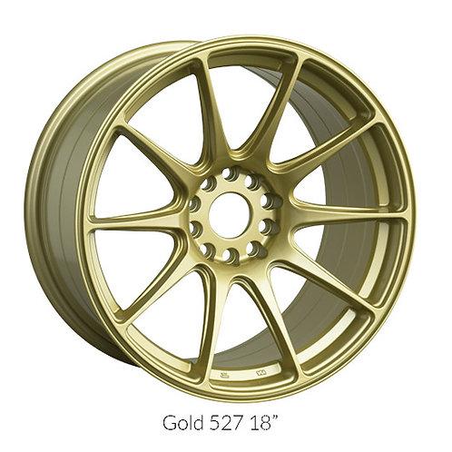 17x8.25 XXR 527 Gold