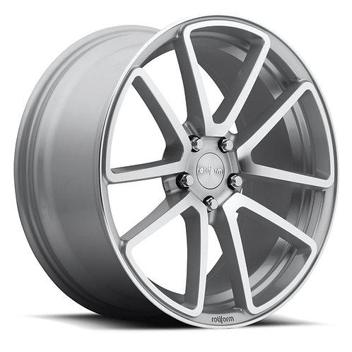 18x8.5 Rotiform SPF Silver