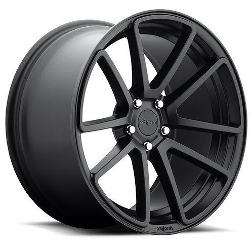 18x8.5 Rotiform SPF Black