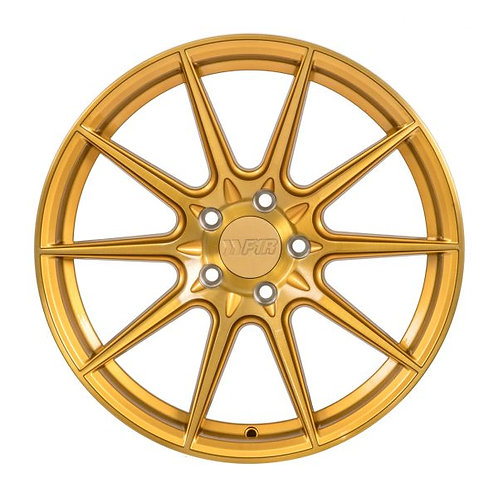 18x9.5 F1R F101 Brushed Gold