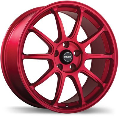 Fast Dime Matte Red