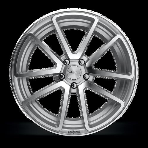 19x8.5 Rotiform SPF Silver