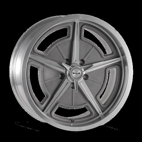 18x9.5 Ridler 605 Silver
