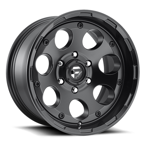 18x9 Fuel Enduro Matte Black
