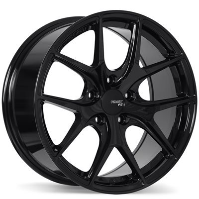 18x8 Fast FC04 Black