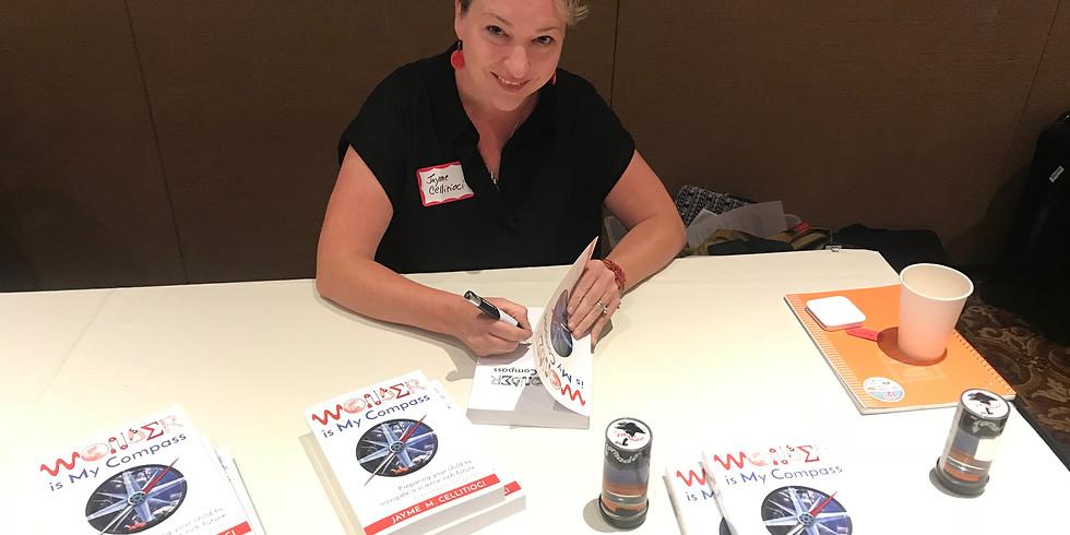 Book Signing at Redwood Writers Meeting (1)