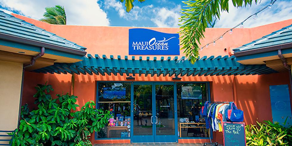 Book Signing at Maui Ocean Center  Nov 2018