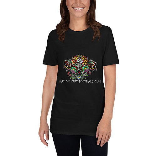 Bat Country FC Sugar skull Short-Sleeve Unisex T-Shirt