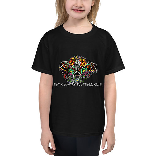 Bat Country FC Sugar Skull Youth Short Sleeve T-Shirt