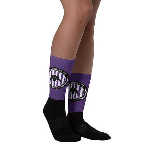 Bat Country Calf Socks