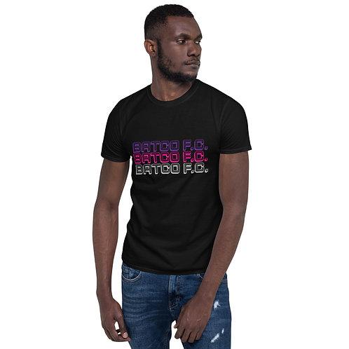 Bat Country FC 3 Bands Short-Sleeve Unisex T-Shirt