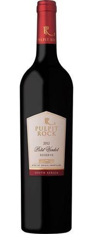 Pulpit Rock Petit Verdot Reserve 2012