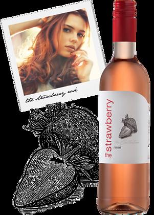 Mooiplaas - Flan de Fresas Rosé Pinotage 2017