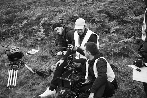 Tom & Bobby discussing a shot in the bracken.