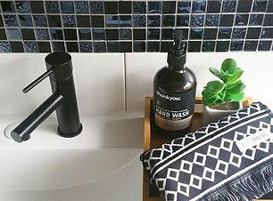 NEW BATHROOM MATT BLACK TAP from @nighti