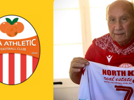 Lija Athletic F.C. Gift Special Jersey To Their Longest Serving Supporter For His Birthday