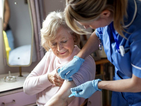 Immunocompromised And Care Home Residents To Receive Booster Shots
