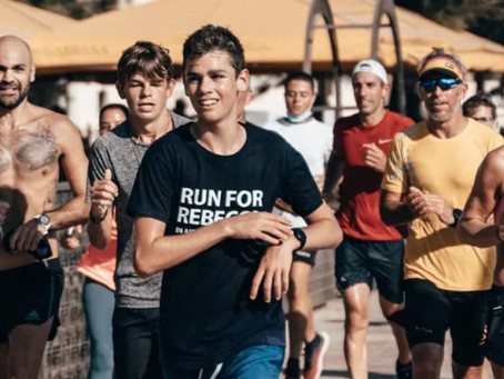 Teen Activist Tommy Wallbank Completes 1,000km Charity Run