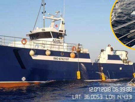 Small Fishing Boat Capsized Following Run-In With Azzopardi Fisheries Trawler
