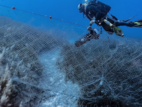 Local Photographer Sheds Light On The Dangers Of Abandoned Fishing Nets