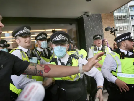 Anti-Vaxxers Storm The BBC, But Get The Building Wrong