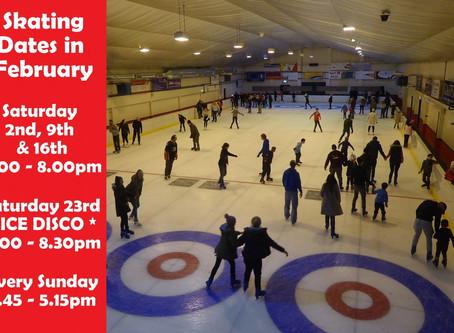 February Skating Dates