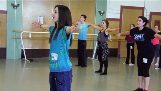Emmy teaching a Master Class for CampYATC in San Francisco