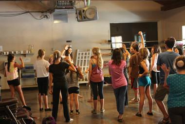Teaching at CampYATC