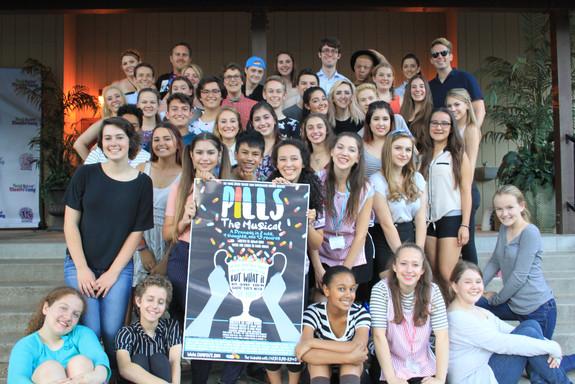 Pills The Musical, Choreographed by Emmy Frevele at Camp YATC