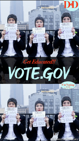 Get Educated! vote.gov