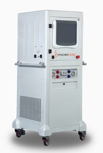 system medyczny hipertermia lokoregionalna synchrotherm rf1200s, łóżko do hipertermii lokoregionalnej, elektrohipertermii