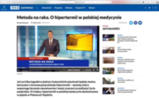 Metoda na raka. O hipertermii w polskiej medycynie.