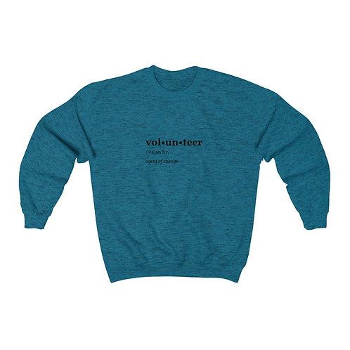 Volunteer Unisex Heavy Blend™ Crewneck Sweatshirt