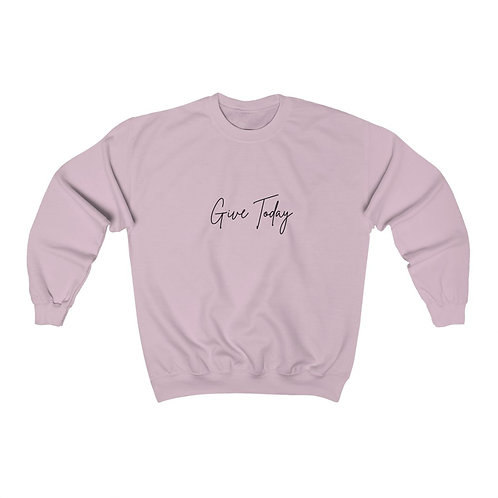Giving Today Unisex Heavy Blend™ Crewneck Sweatshirt