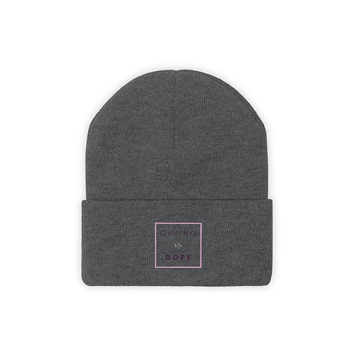 Giving is Dope Knit Beanie