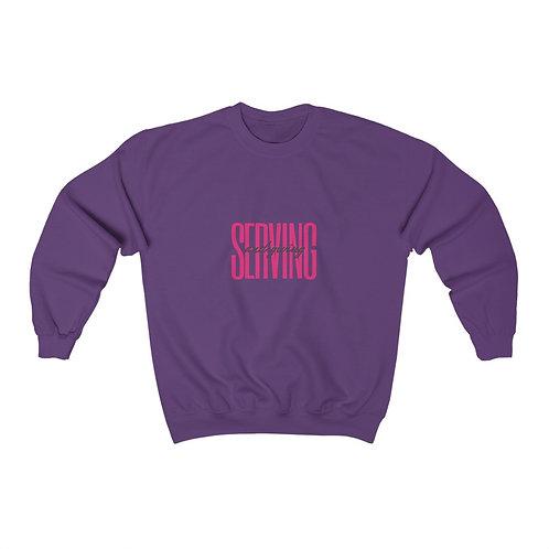 Serving and Giving Unisex Heavy Blend™ Crewneck Sweatshirt