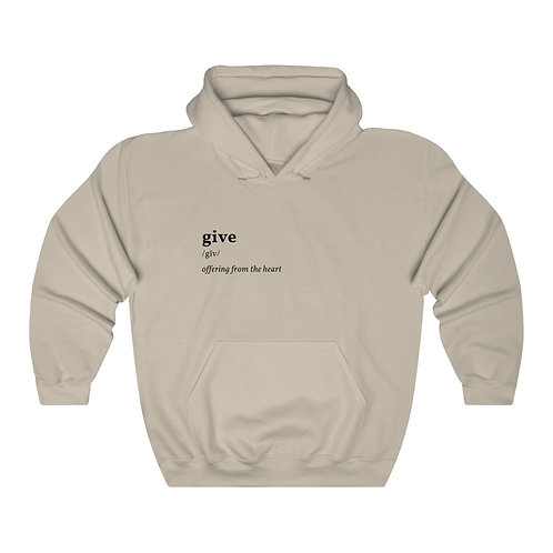 Give Unisex Heavy Blend™ Hooded Sweatshirt
