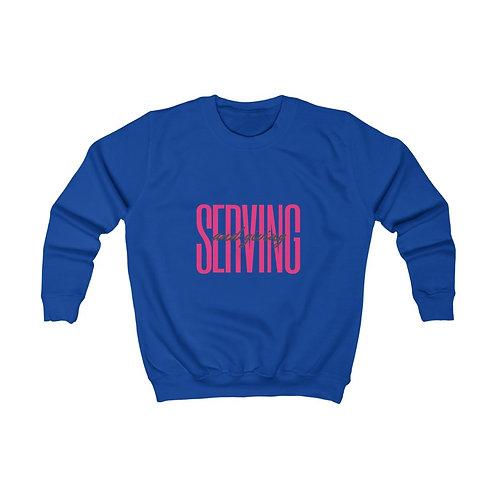 Serving and Giving Kids Sweatshirt