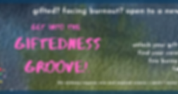 FINAL giftedness groove! FB group cover