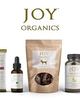 squarish white w 4 product lines JoyOrga