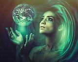 Aqua woman earth dreamstimemaximum_11921