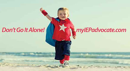 Don't go it alone! Get expert help from My IEP Advocate!